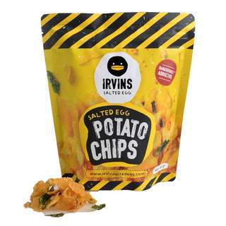 Irvins 咸蛋薯片 salted egg potato chips