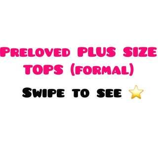 Preloved Plus Size Tops
