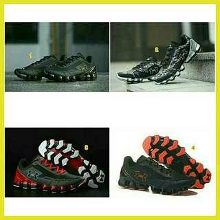 Sepatu sport under armour pria kekinian terbaru 2018 murah branded sz size ukuran 44 45