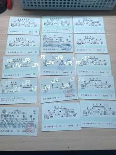 JR 電鐵票