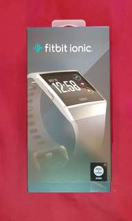 Brand new Fitbit Ionic (Blue Grey)