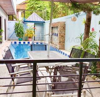GOOD BUY: House and Lot with Swimming Pool and Garden in Loyola Grand Villas (LGV)