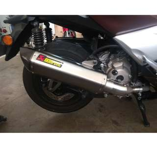 Yamaha XMAX with Akrapovic Exhaust (LTA Approved)