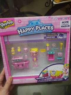 ALL MUST GO SALE! SHOPKINS HAPPY PLACES PLAY SET (BNEW IN BOX)