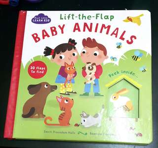 Lift the flap baby animals