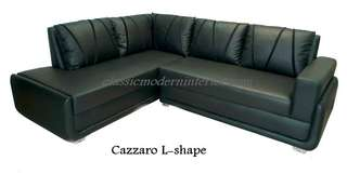 Brand new Sala set Lshape sofa Cazzaro