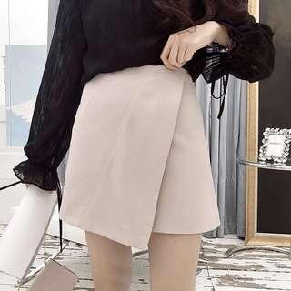 全新韓國顯瘦返工斯文a字裙短裙skirt