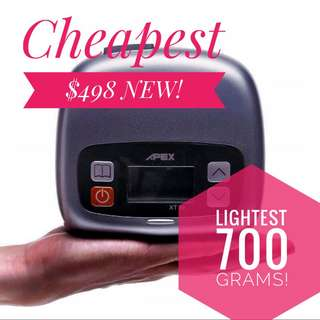 Lightest Cheapest CPAP Apex Brand New