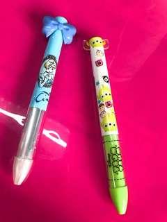 全新日本迪士尼雙色筆