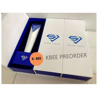 [READY STOCK] SUPER JUNIOR OFFICIAL LIGHTSTICK 2018