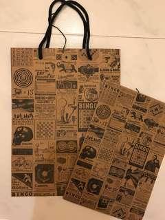 Typo Paper Bag/Envelope