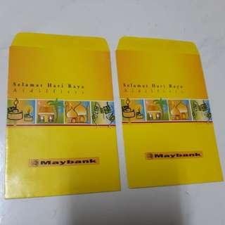 Angpao Packet Sampul Duit Raya Maybank Vintage