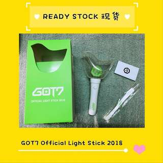 [READY STOCK] GOT7 OFFICIAL LIGHT STICK 2018