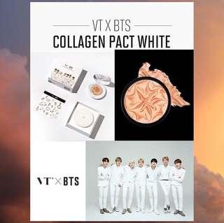VT X BTS Collagen Pact #21 Light Beige