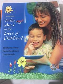 Who am I in the lives of children? 7th edition