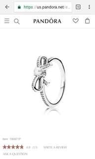 Pandora bow ring