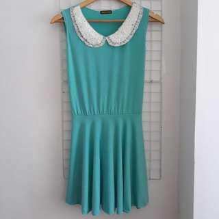 Turquoise Casual Dress