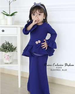 Claira kids exclusive peplum