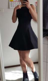 H&M Little Black Dress size 6 Petite