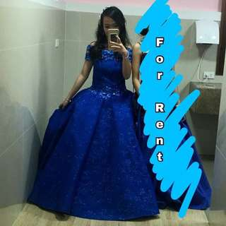 Ball gown || For rent