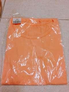 🚚 淺橘色T恤上衣 全新💥