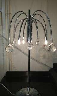 Hari Raya Special.. ! Beautiful authentic crystal table lamp.