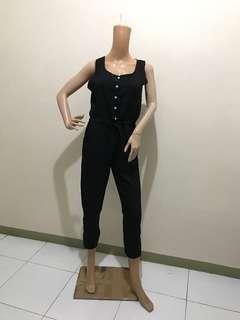 Size L Jumpsuit String Waist