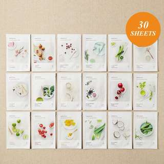 Masker New Innisfree My Real Squeeze Mask 5pcs