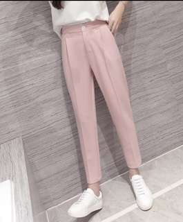 3XL Soft pink tapered pants