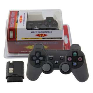 Sony PlayStation PS3/PS2/PC Wireless Controller with Battery (New)