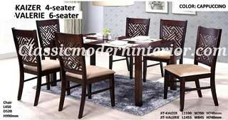 Brand new Dining set 6-seater Valerie