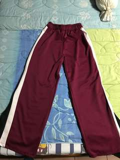 Track Pants with Slits