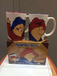 Paddington Bear杯一套2pcs