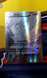Dialga EX 122/119 Full Art Secret Rare Pokemon Card
