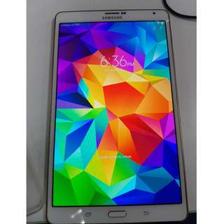 Samsung Galaxy Tab S 84 LTE White