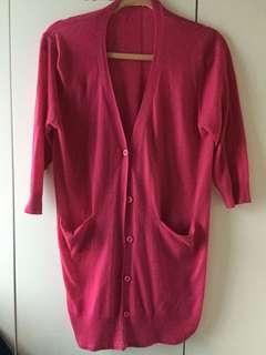 Pink Cardigan 粉紅色外套