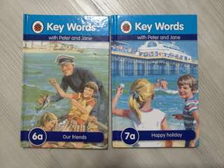 Ladybird - key words with peter & Jane (6a & 7a)