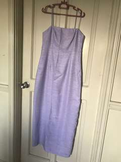 Lilac long gown