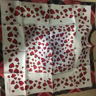 Burberry blue label 手巾 gift