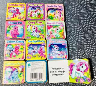 Preloved Authentic Little Pony & Friends Story Books