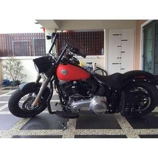 Harley Davidson FLS Softail Slim 2013/14