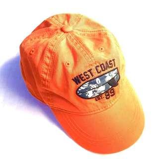 Boys Cap 3T-4T (Orange)