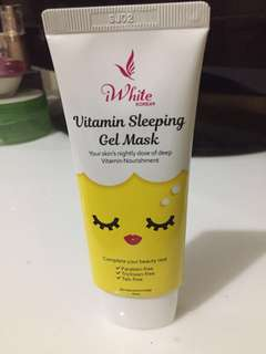 IWhite Vitamin Sleeping Gel Mask