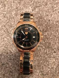 Tag heuer rose gold watch