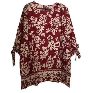 Brand New Women Batik Blouse