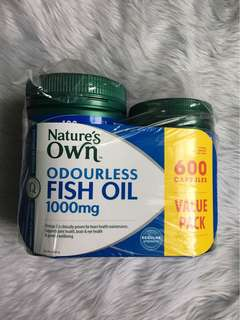 Nature's Own Fish Oil