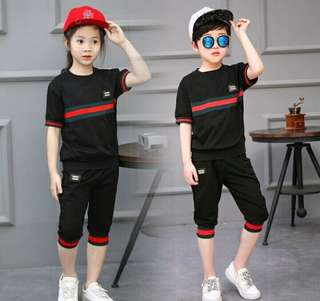 ❤️grabs fast‼️Sporty Girls',Boys' Suits
