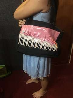 Tas piano tote bag