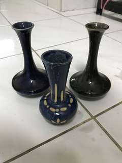 Sarawak Mini Vases for Home Deco