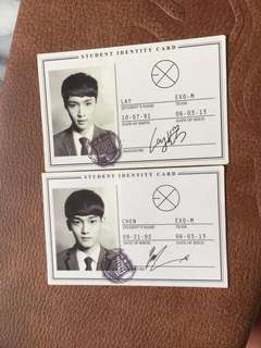 Exo LAY and CHEN PC